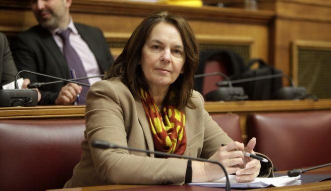 """Επεξεργασία και εξέταση στην Επιτροπή Οικονομικών Υποθέσεων της Βουλής, του σχεδίου νόμου του υπουργείου Οικονομικών """"Υποχρεωτικός έλεγχος των ετήσιων και των ενοποιημένων χρηματοοικονομικών καταστάσεων, δημόσια εποπτεία επί του ελεγκτικού έργου και λοιπές διατάξεις"""", την Τρίτη 10 Ιανουαρίου 2017. (EUROKINISSI/ΓΙΩΡΓΟΣ ΚΟΝΤΑΡΙΝΗΣ)"""