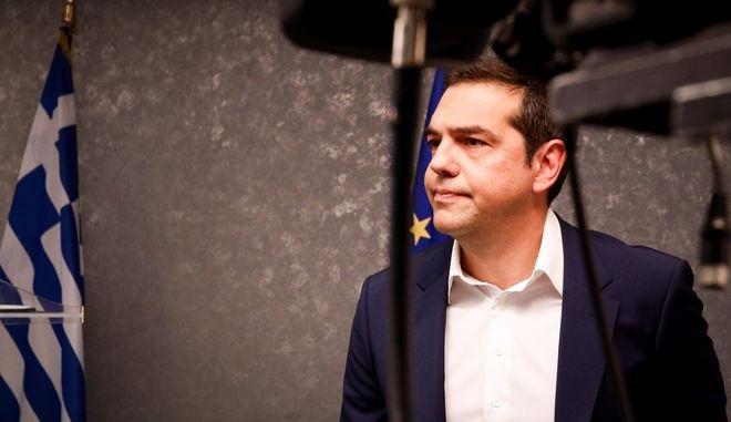Ο πρωθυπουργός, Αλέξης Τσίπρας