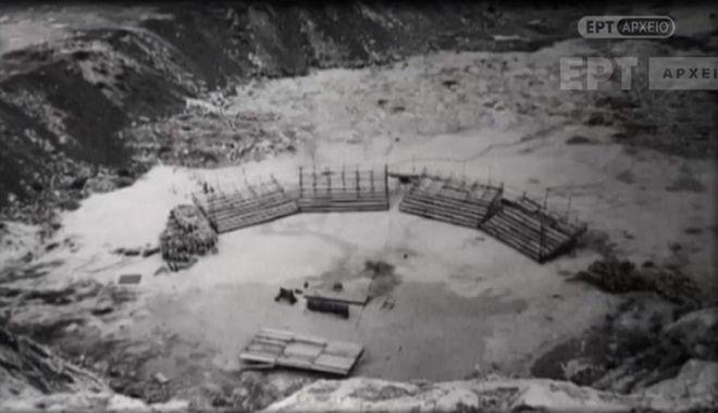 Το θέατρο Βράχων στην πρώιμη εκδοχή του, ως