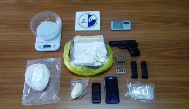 Συλλήψεις της Δίωξης Ναρκωτικών για διακίνηση κοκαΐνης