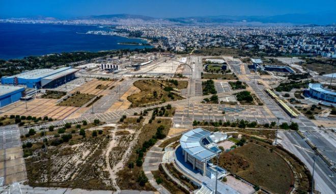 Έργα κατεδάφισης στο Ελληνικό