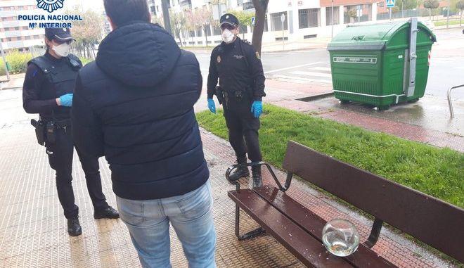 """Ισπανία: Πήγε τα ψάρια του βόλτα και τον """"μάζεψαν"""""""