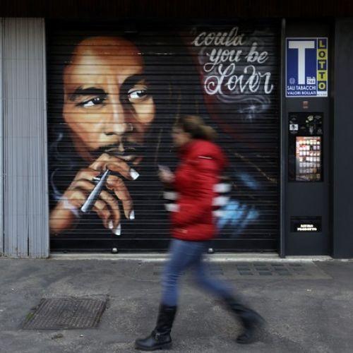 Τοιχογραφία για τον Μπομπ Μάρλεϊ