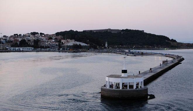 Φωτογραφία από το λιμάνι της Λέσβου