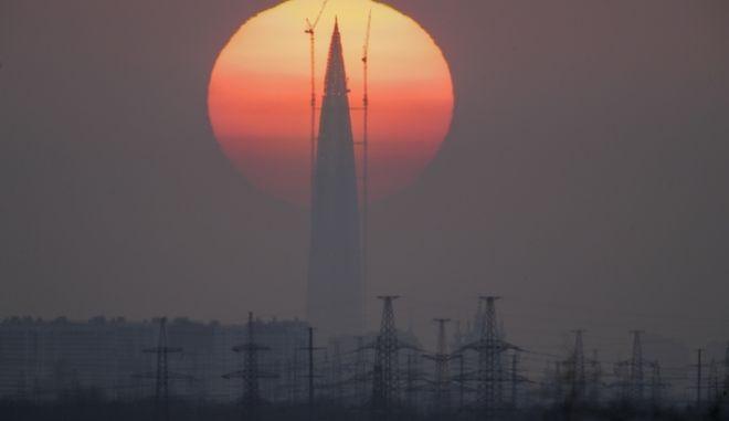Πύργος Λακχτα, τα νέα κεντρικά της Gazprom στην Ρωσία, Αγία Πετρούπολη