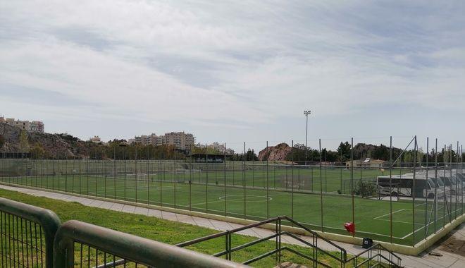 Οι αθλητικές εγκαταστάσεις και το γήπεδο Δ.Νικολαΐδης
