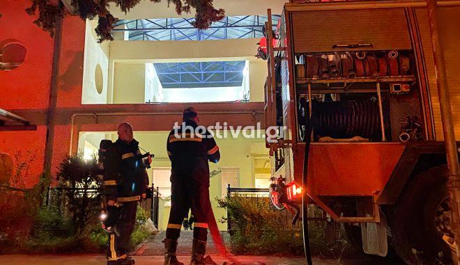 """Θεσσαλονίκη: Φωτιά στο Ίδρυμα """"Άγιος Δημήτριος"""" - Απεγκλωβίστηκαν 10 παιδιά"""