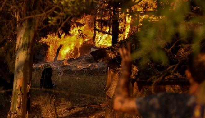 Φωτιά στην Αχαϊα: Ολονύχτια μάχη με τις φλόγες - Κάηκαν σπίτια, μεταφέρθηκαν άνθρωποι σε νοσοκομεία