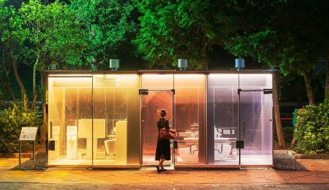 Τόκιο: Διαφανείς δημόσιες τουαλέτες σε πάρκα - Πώς λειτουργούν