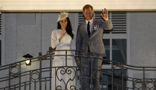 Ο πρίγκιπας Χάρι και η Μέγκαν Μαρκλ στα νησιά Φίτζι τον Οκτώβριο του 2018