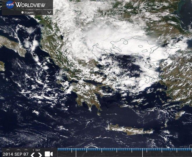 Καιρός: Θυελλώδεις βοριάδες στο Αιγαίο και πτώση θερμοκρασίας