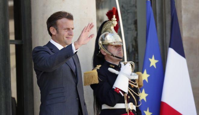 Ο πρόεδρος της Γαλλίας Εμμανουέλ Μακρόν