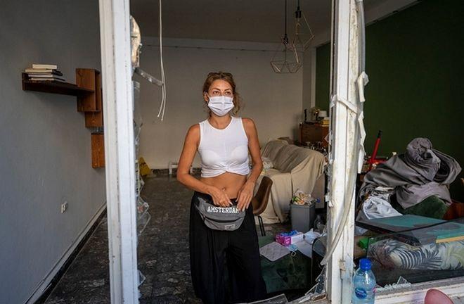 To σπίτι της 34χρονης Sandrine Zeinoun