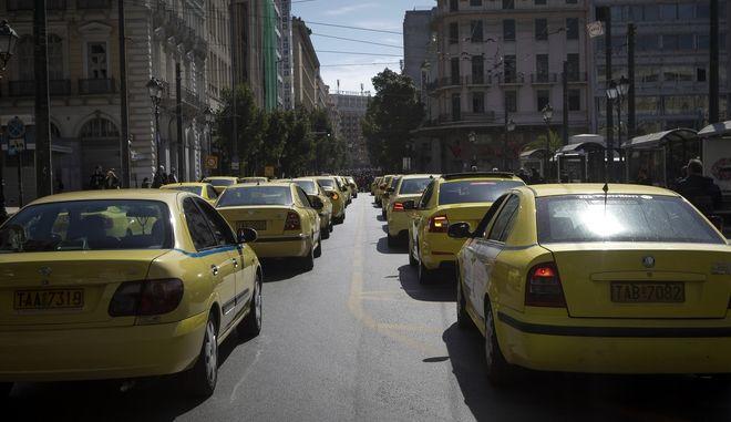 Χωρίς ταξί την Τετάρτη η Αττική