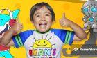 YouTube: 9χρονος κέρδισε πάνω από 200 εκατ. δολάρια ανοίγοντας παιχνίδια