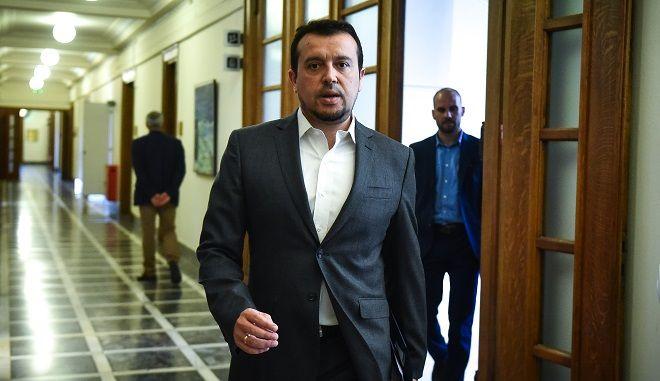 Ο υπουργός μέσων ενημέρωσης και ψηφιακής πολιτικής Νίκος Παππάς