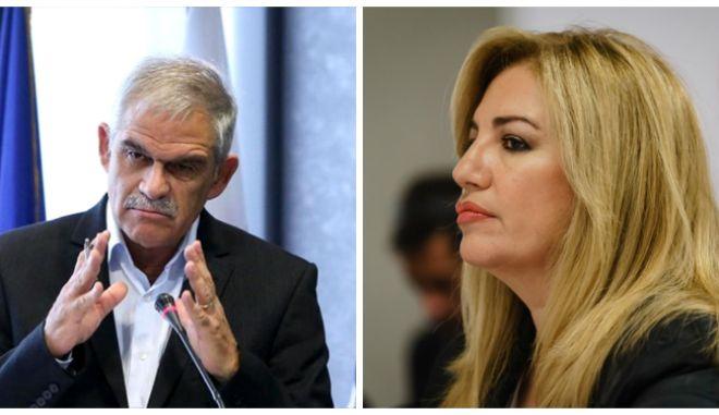 Η απάντηση Τόσκα στην Γεννηματά και την απαίτηση παραίτησής του