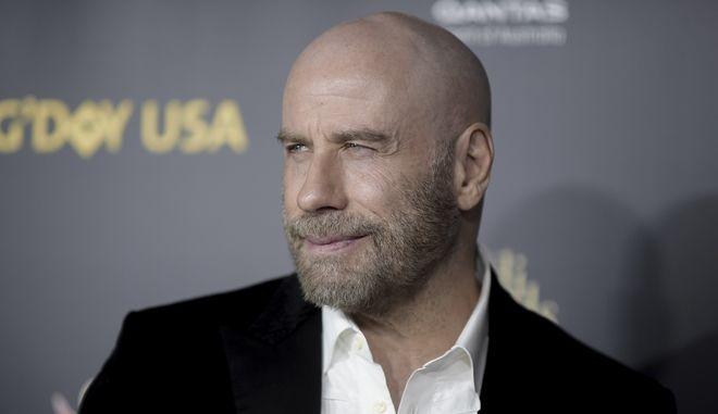 O John Travolta στο G' Day USA gala στο Los Angeles.