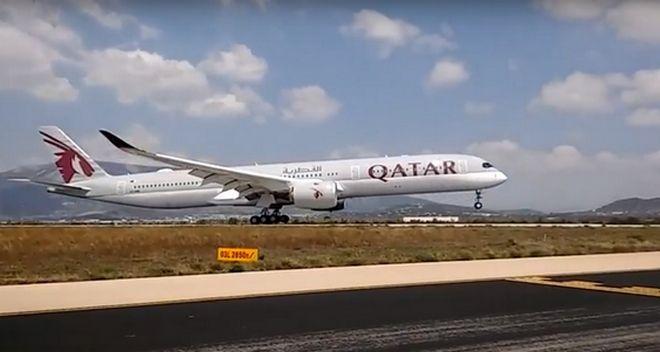 H Qatar Airways έφερε το εκπληκτικό Airbus A350-1000 στην Αθήνα