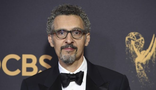 John Turturro arrives at the 69th Primetime Emmy Awards on Sunday, Sept. 17, 2017, at the Microsoft Theater in Los Angeles. (Photo by Jordan Strauss/Invision/AP)