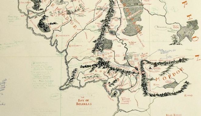 Χάρτης της Μέσης Γης