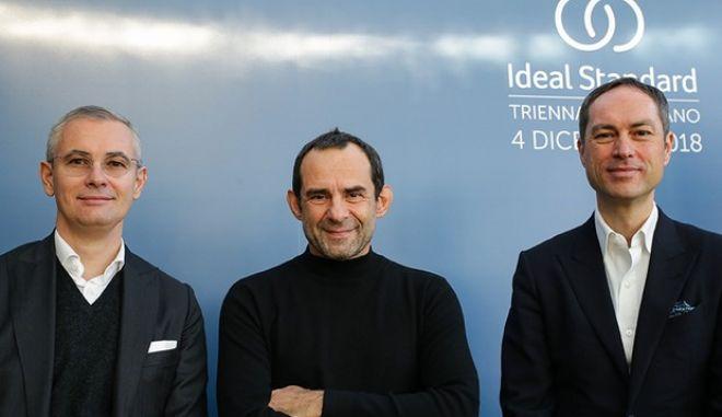 """Η Ideal Standard International ξεκινά συνεργασία με το διεθνούς φήμης ιταλικό Design Studio """"Palomba Serafini Associati"""""""