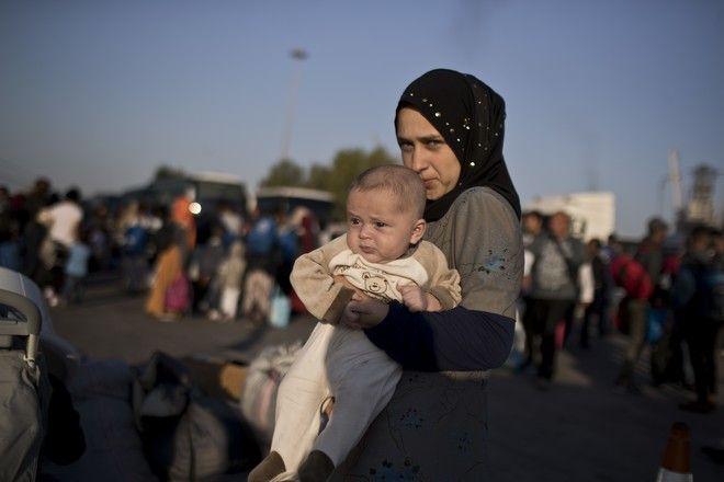 Πρόσφυγες από τη Συρία