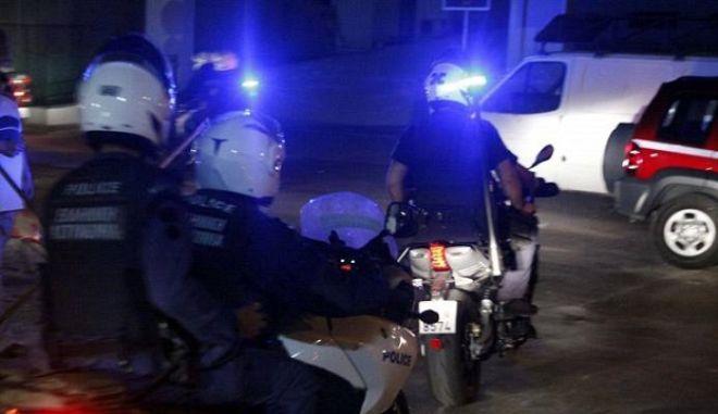 Καταδίωξη με πυροβολισμούς στη Λεωφόρο Πεντέλης