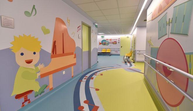"""Ο ΟΠΑΠ ανακαίνισε πλήρως την Καρδιολογική Μονάδα στο παιδιατρικό νοσοκομείο """"Η Αγία Σοφία"""""""