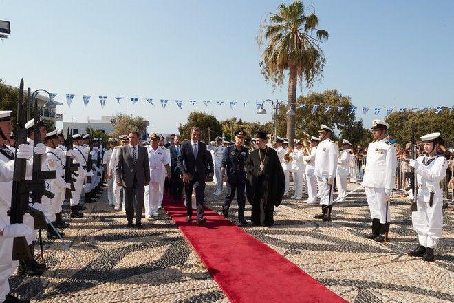 Στην Τήνο ο πρωθυπουργός, Κ. Μητσοτάκης, για τον εορτασμό της Κοίμησης της Θεοτόκου