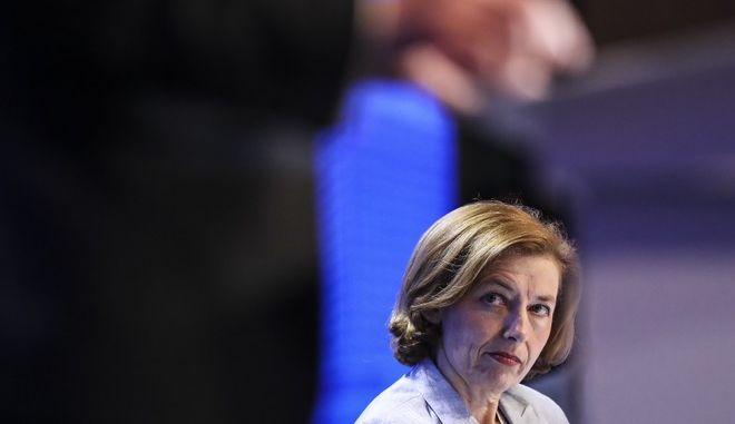 Η γαλλίδα υπουργός Άμυνας Φλοράνς Παρλί