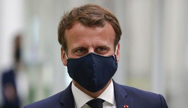Ο πρόεδρος της Γαλλίας Εμανουέλ Μακρόν