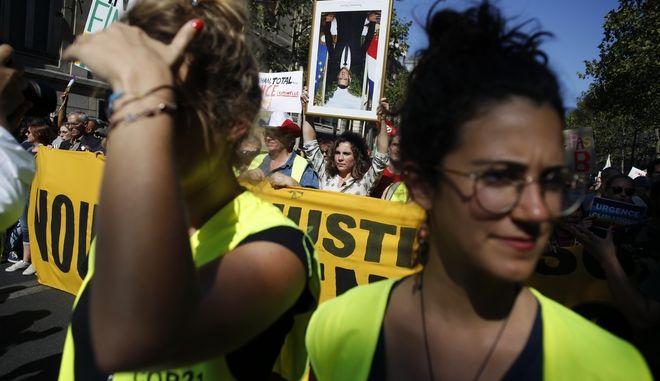 Πορεία των κίτρινων γιλέκων