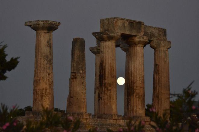 Η Πανσέληνος στην Αρχαία Κόρινθο
