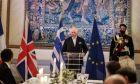 Επίσημο Δείπνο στο Προεδρικό Μέγαρο για τους προσκεκλημένους των εκδηλώσεων για τη συμπλήρωση 200 ετών από την Επανάσταση του 1821, την Τετάρτη 24 Μαρτίου 2021. (EUROKINISSI/ΓΙΩΡΓΟΣ ΚΟΝΤΑΡΙΝΗΣ)
