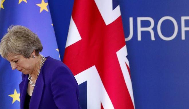 Η πρωθυπουργός Τερέζα Μέι