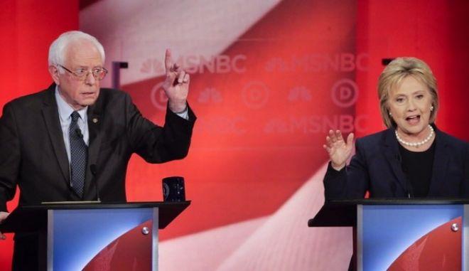 ΗΠΑ: Συμφώνησαν για νέο τηλεοπτικό debate Κλίντον - Σάντερς