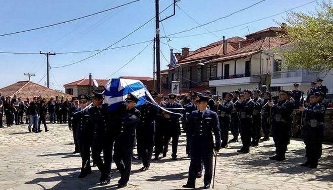Γιώργος Μπαλταδώρος: Στο Μορφοβούνι το τελευταίο αντίο στον σμηναγό του Mirage 2000-5