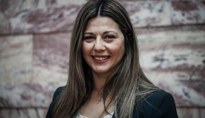 Η υφυπουργός Παιδείας, Σοφία Ζαχαράκη