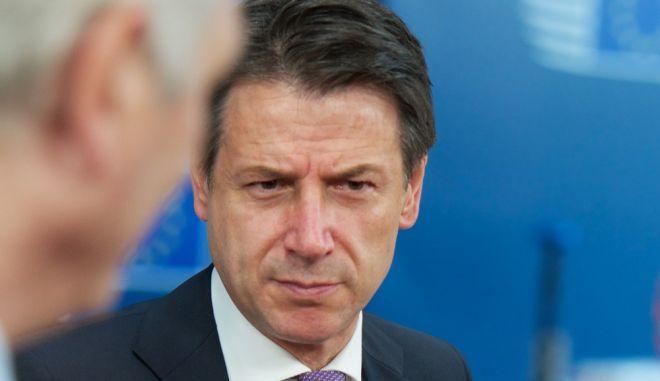 Ο Πρωθυπουργός της Ιταλίας, Τζουζέπε Κόντε