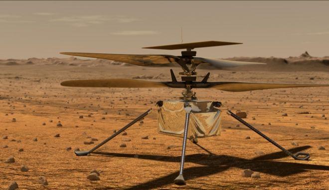 Ελικόπτερο της NASA στον πλανήτη Άρη