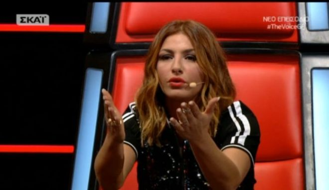 The Voice: Η Παπαρίζου αναρωτήθηκε ποιος τραγουδά το 'Δεν λες κουβέντα'