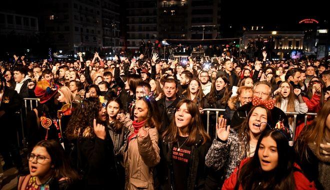 Πατρινό Καρναβάλι: Καρέ από την φαντασμαγορική έναρξη