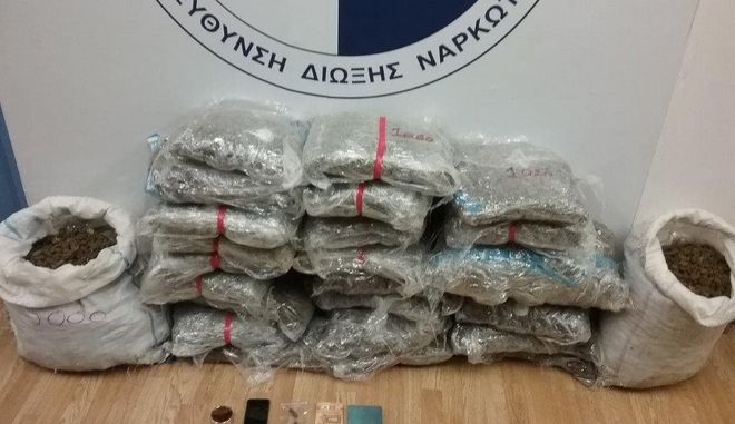 Μετέφεραν μεγάλες ποσότητες κάνναβης από την Αλβανία στην Ελλάδα