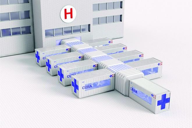 Ανάπτυξη κινητών ΜΕΘ, που συνδέονται με δομή υγείας.