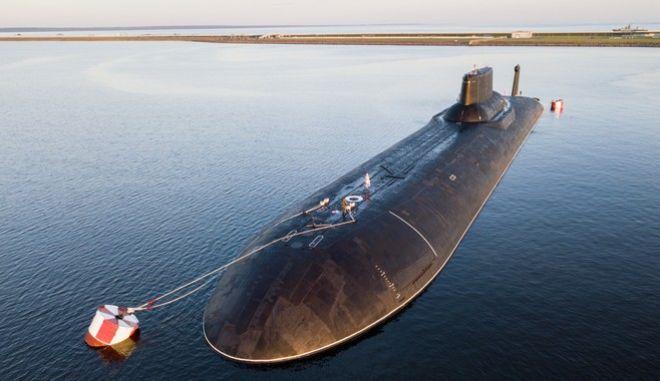 Ρωσικό πυρηνικό υποβρύχιο - Φωτό Αρχείου