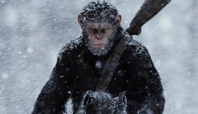 Κερδίστε διπλές προσκλήσεις για την ταινία 'Ο Πλανήτης των Πιθήκων: Η Σύγκρουση'