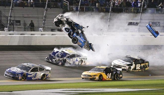 Η στιγμή του ατυχήματος.