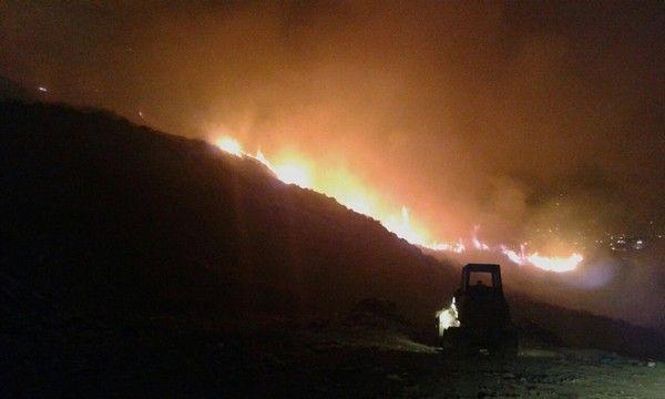 Φωτιές σε Κρήτη και Ζάκυνθο
