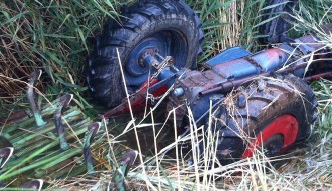 Ωραιόκαστρο: Αγρότης καταπλακώθηκε από το τρακτέρ του